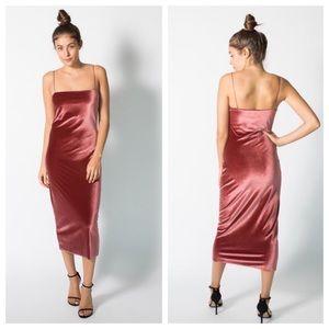 4c5b67caaffd5 Bec & Bridge Dresses | Bec And Bridge Velvet Ruba Rombic Slip Dress ...